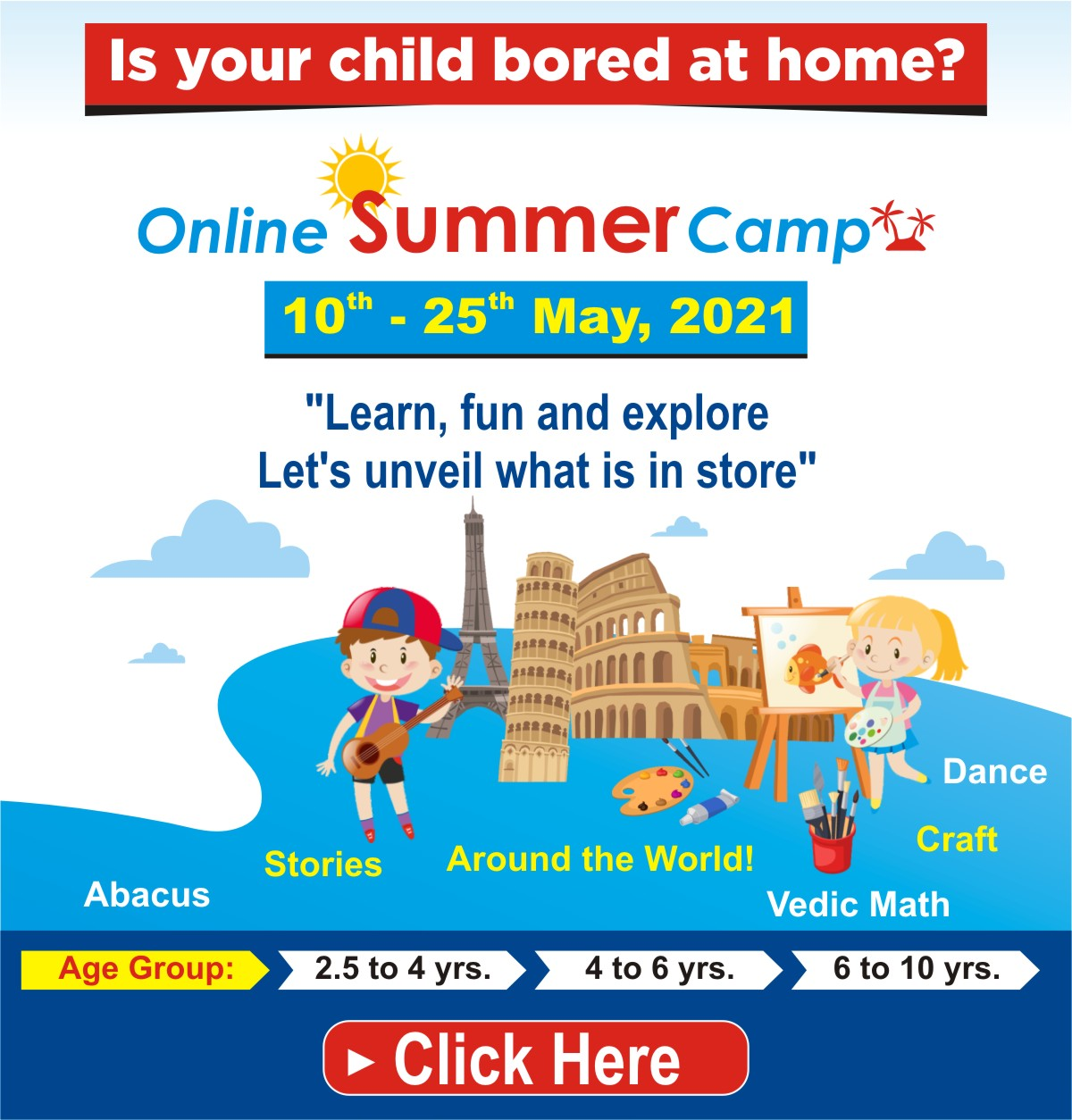 Summer Camp for Kids Coming Soon